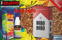 30ml BORO BORO 3mg eLiquid (With Nicotine, Very Low) - Liquella eLiquid by HEXOcell image 1