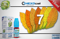 10ml 7 FOGLIE 6mg eLiquid (With Nicotine, Low) - Natura eLiquid by HEXOcell image 1
