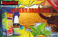 30ml DESERT SKULL DRY 9mg eLiquid (With Nicotine, Medium) - Liquella eLiquid by HEXOcell image 1