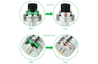 ATOMIZER - GEEK VAPE Griffin 25 Plus RTA ( Stainless ) image 5