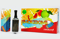 ATOMIZER - ViVi NOVA SmokeBomb 2.8 ML Dual-Coil ( Black ) image 2