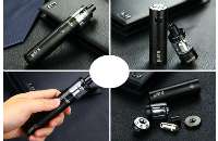KIT - Eleaf iJust S Sub Ohm Starter Kit ( Black ) image 2