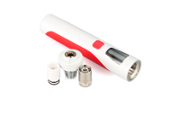 KIT - Joyetech eGo AIO D19 Full Kit ( Red & White ) image 4