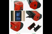 KIT - Wismec REULEAUX RX2/3 200W TC Mod ( Black ) image 4