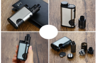 KIT - Eleaf Pico Squeeze Squonk Mod Full Kit ( Grey ) image 5