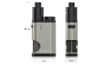 KIT - Eleaf Pico Squeeze Squonk Mod Full Kit ( Silver ) image 2