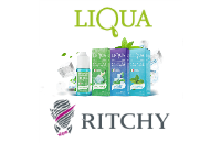 30ml LIQUA C TWO MINTS 6mg eLiquid (With Nicotine, Low) - eLiquid by Ritchy image 1