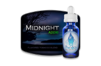 30ml MIDNIGHT APPLE 12mg eLiquid (With Nicotine, Medium) - eLiquid by Halo image 1