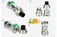ATOMIZER - GEEK VAPE Griffin 25 Plus RTA ( Black ) image 4