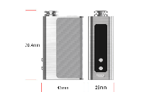 KIT - DIGIFLAVOR DF 60 ( Stainless ) image 4