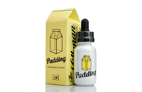 30ml PUDDING 6mg MAX VG eLiquid (With Nicotine, Low) - eLiquid by The Vaping Rabbit image 1