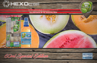 60ml FOREST MELONZ SPECIAL EDITION 3mg High VG eLiquid (With Nicotine, Very Low) - Natura eLiquid by HEXOcell image 1