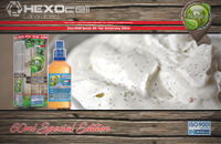 60ml VANILLA BUZZ SPECIAL EDITION 9mg High VG eLiquid (With Nicotine, Medium) - Natura eLiquid by HEXOcell image 1