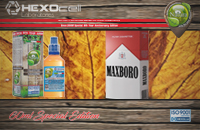 60ml MAXBORO SPECIAL EDITION 3mg High VG eLiquid (With Nicotine, Very Low) - Natura eLiquid by HEXOcell image 1