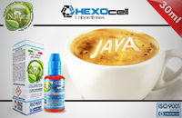 30ml JAVA COFFEE 6mg 80% VG eLiquid (With Nicotine, Low) - Natura eLiquid by HEXOcell image 1