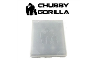 VAPING ACCESSORIES - CHUBBY GORILLA 3x 10ml Bottle Case ( Clear White ) image 1