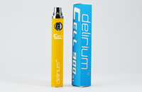 BATTERY - DELIRIUM CELL 900mA eGo/eVod Top Quality ( Yellow ) image 1
