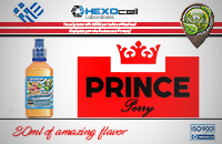 D.I.Y. - 30ml PRINCE PERRY 0mg 65% VG TPD Compliant Shake & Vape eLiquid by Natura image 1