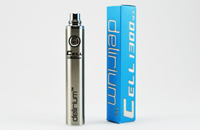 BATTERY - DELIRIUM CELL 1300mA eGo/eVod Top Quality ( Stainless ) image 1