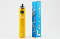 BATTERY - DELIRIUM CELL 1300mA eGo/eVod Top Quality ( Yellow ) image 1