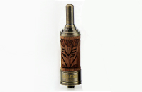 ATOMIZER - VISION X.Fir Desire BDC Atomizer with Wooden Sleeve - Adjustable Airflow / 1.8 ohms / 2ML Capacity - 100% Authentic image 2