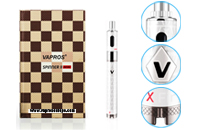KIT - VISION / VAPROS Spinner 2 (II) Mini 850mA VV BDC Kit ( 3.3V - 4.8V ) - 100% Authentic ( White ) image 1