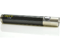 BATTERY - ASPIRE CF VV+ ( Carbon Fiber / Variable Voltage ) 1000mA - 100% Authentic - ( Black )  image 2