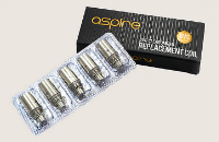 ATOMIZER - 5x BVC Atomizer Heads for ASPIRE K1, CE5, ET-S & Vivi Nova-S ( 1.8 ohms ) - 100% Authentic image 1