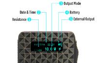 KIT - Vapros iBOX 25W - 1500mA VV/VW Sub Ohm ( Black ) image 5