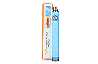 BATTERY - VISION / VAPROS Stylish V1 1300mA Variable Voltage Battery ( Blue ) image 1
