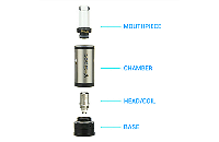 ATOMIZER - V-Spot VDC Atomizer ( Black ) image 2