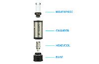 ATOMIZER - V-Spot VDC Atomizer ( Gold ) image 2