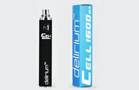 BATTERY - DELIRIUM CELL 1600mA eGo/eVod Top Quality ( Black ) image 1
