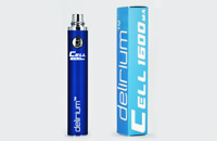 BATTERY - DELIRIUM CELL 1600mA eGo/eVod Top Quality ( Blue ) image 1