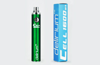 BATTERY - DELIRIUM CELL 1600mA eGo/eVod Top Quality ( Green ) image 1
