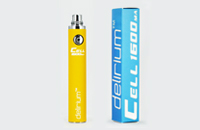 BATTERY - DELIRIUM CELL 1600mA eGo/eVod Top Quality ( Yellow ) image 1