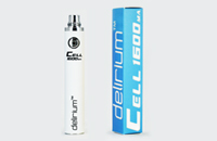 BATTERY - DELIRIUM CELL 1600mA eGo/eVod Top Quality ( White ) image 1