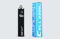 BATTERY - DELIRIUM CELL 2200mA eGo/eVod Top Quality ( Black ) image 1