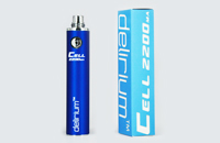 BATTERY - DELIRIUM CELL 2200mA eGo/eVod Top Quality ( Blue ) image 1