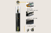 BATTERY - ASPIRE CF MOD 18650 Battery ( Black ) image 4