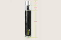 BATTERY - ASPIRE CF MOD 18650 Battery ( Black ) image 5