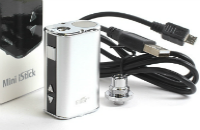 KIT - Eleaf Mini iStick 10W - 1050mA VV ( Stainless ) image 1