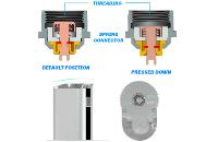 BATTERY - Eleaf iStick 30W - 2200mA VV/VW Sub Ohm ( Black ) image 5