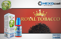 30ml ROYAL TOBACCO 9mg eLiquid (With Nicotine, Medium) - Natura eLiquid by HEXOcell image 1