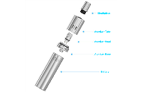 KIT - Joyetech eGo ONE 1100mAh Kit ( Sky Blue ) image 2