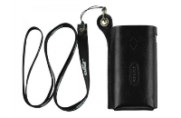 VAPING ACCESSORIES - Eleaf iStick 50W Leather Carry Case with Lanyard ( Black ) image 2
