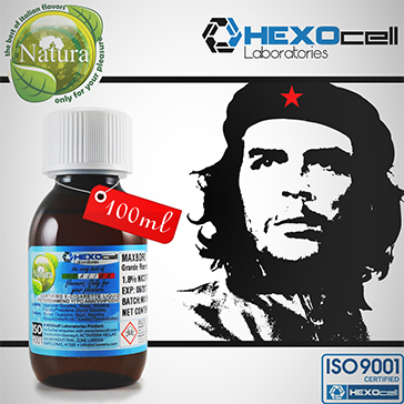 100ml CUBAN SUPREME 18mg eLiquid (With Nicotine, Strong) - Natura eLiquid by HEXOcell