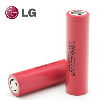 BATTERY - LG HE2 18650 3.7V 35A 2500mAh High Drain ( Flat Top )
