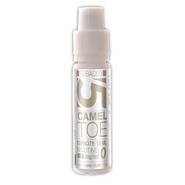 15ml CAMEL TOE / ORIENTAL TOBACCO 12mg eLiquid (With Nicotine, Medium) - eLiquid by Pink Fury