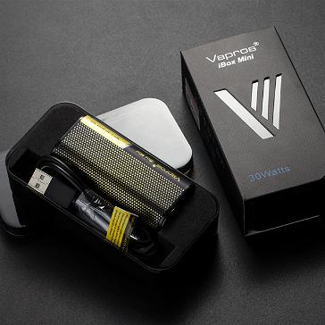 KIT - Vapros iBox Mini 30W Sub Ohm - 2000mAh VV/VW ( Black )